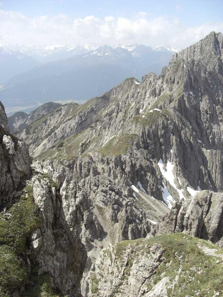 Zirler Klettersteig zur Erlspitze