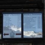 Tourenkarte Amberger Hütte