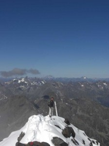 Gipfelgrat am Schrankogel