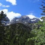 Ausblick aufs Karwendel