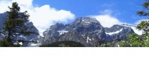 Wanderung zur Rappenspitze im Karwendel