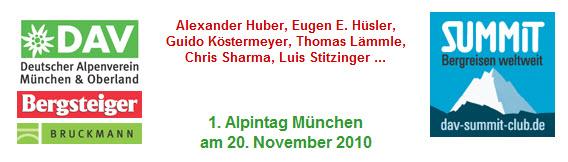 AlpintagAV München in der BMW Welt am 20.11.
