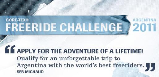 Gewinnspiel: zur Goretex-Freeride Challenge in Argentinen!