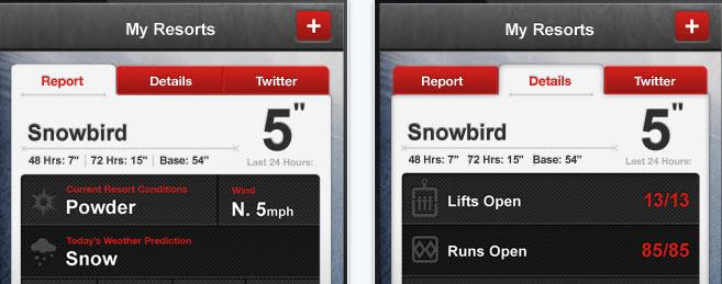 iPhone App von The North Face