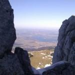 Kampenwand - Blick zum Chiemsee