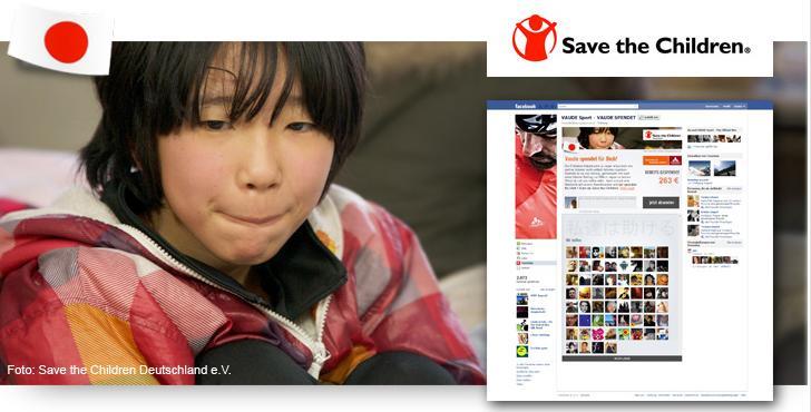 VAUDE Spendenaktion für Japan