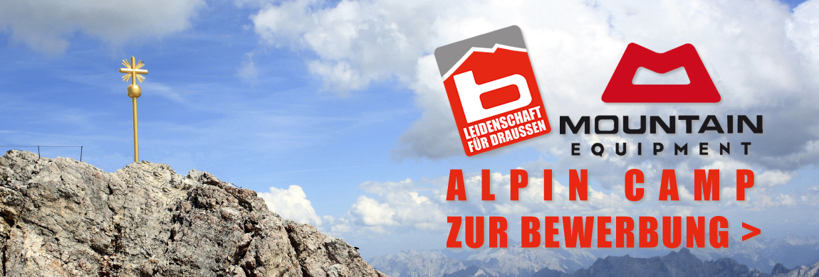 Bergzeit & Mountain Equipment Alpin Camp