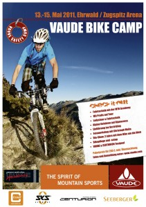 Vaude Bike Camp in Ehrwald / Biberwier