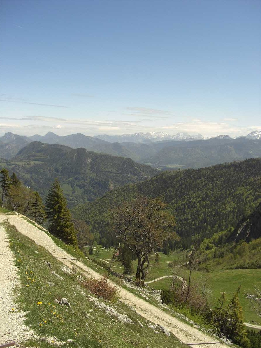 Blick Richtung Osten vom Geigelstein