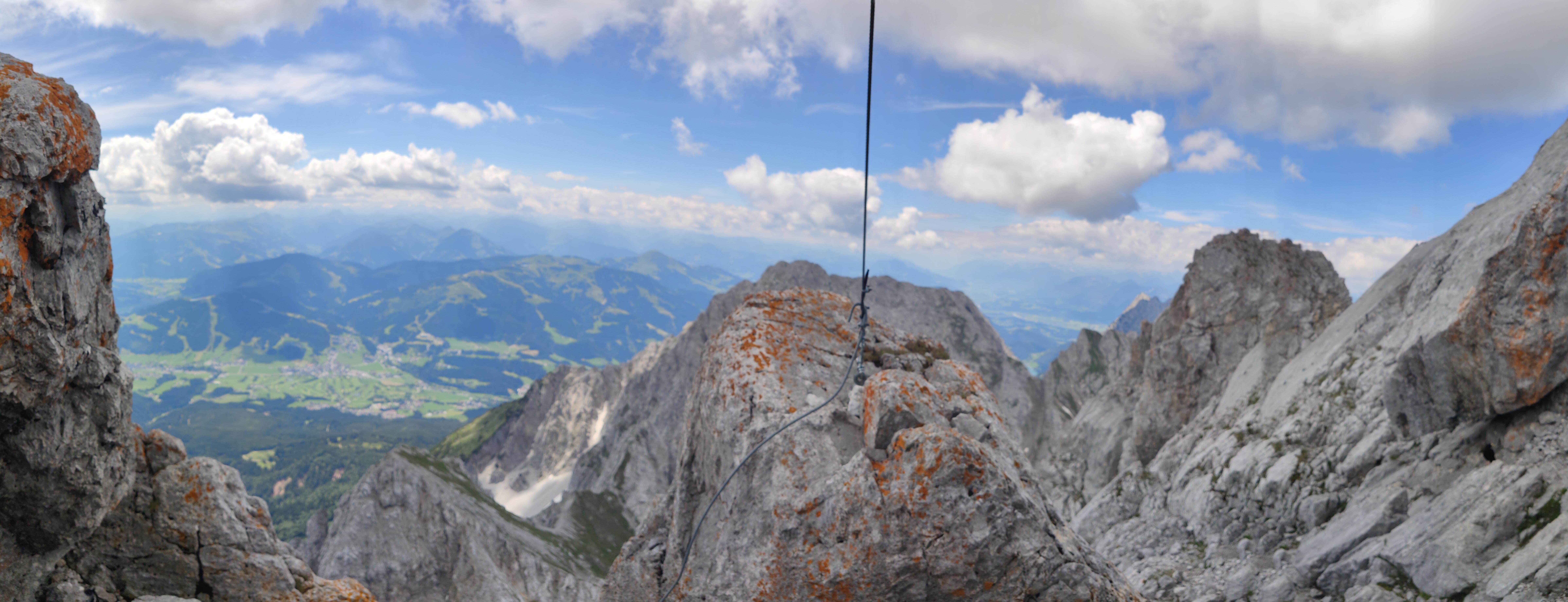 Klettersteig zum Ellmauer Halt (Wilder Kaiser, 2344m)