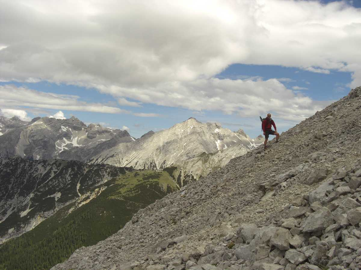 Wandertour zur Speckkarspitze (2606m, Nordkette, Karwendel)