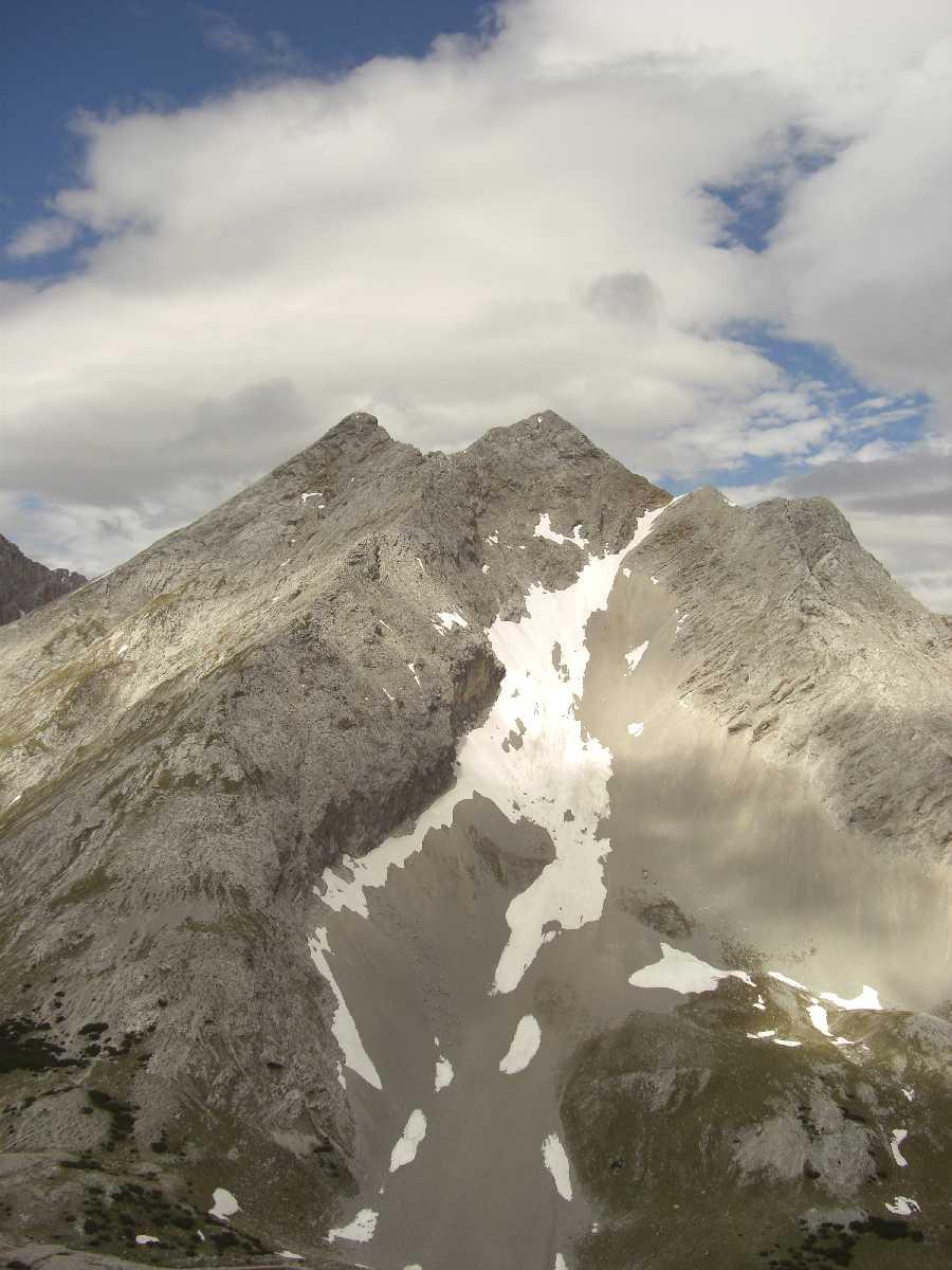 Lafatscherkopf, gegenüber Speckkarspitze