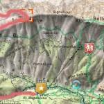 Karte Speckkarspitze