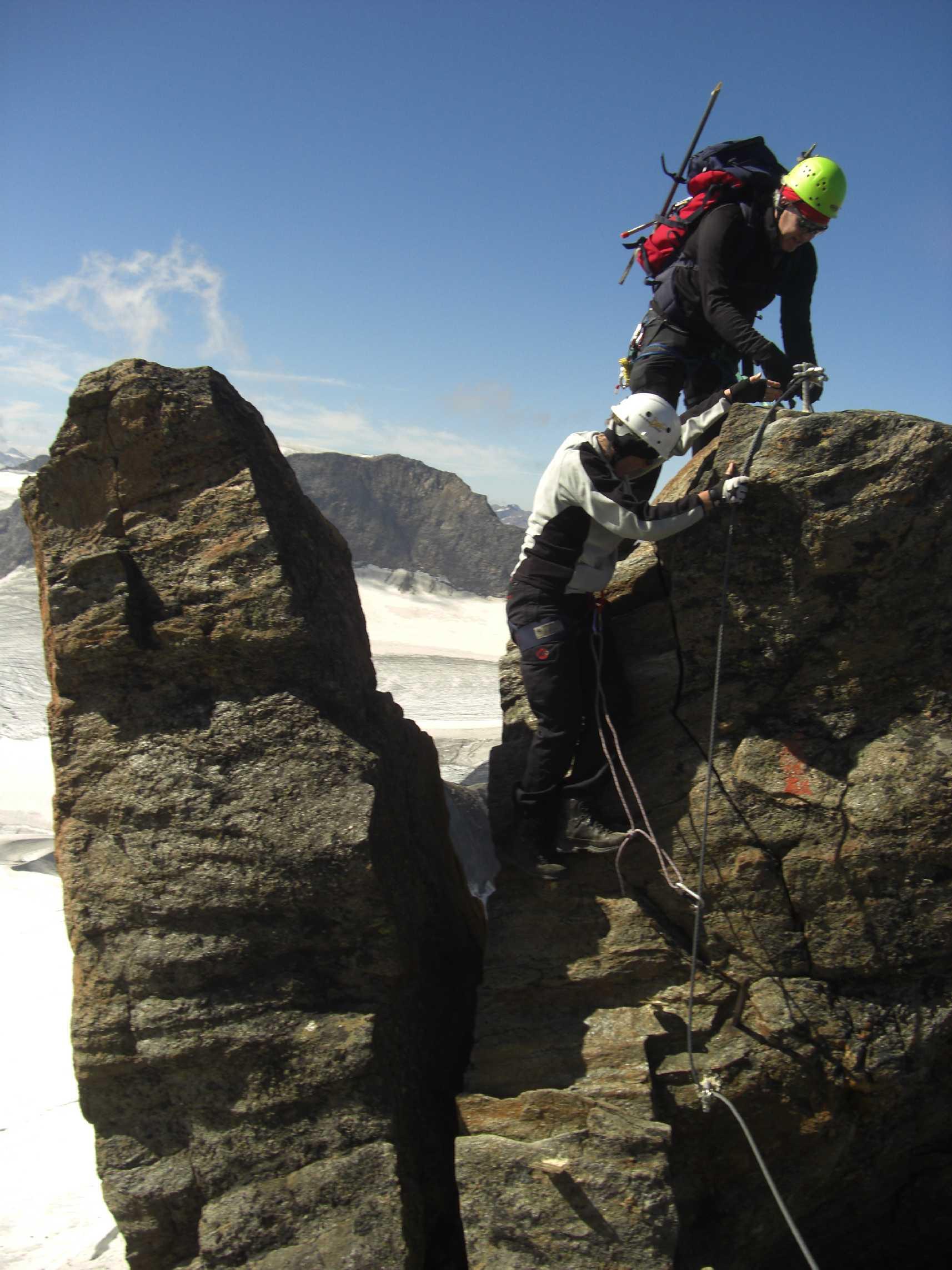 Gipfelgrat - Wilder Freiger