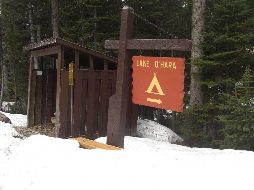Camping am Lake o Hara / Kanada