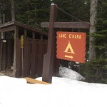 Camping am Lake o Hara / Kanada
