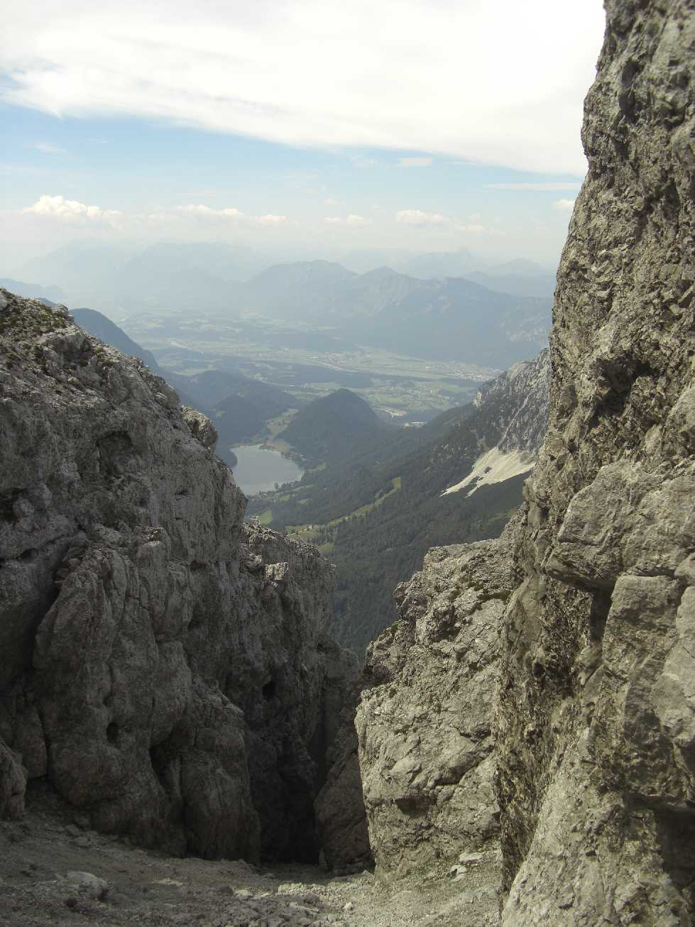 Hintersteiner See, vom Tuxeck