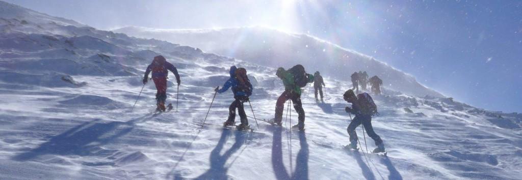 Windig in Norwegen - Lyngen Alps, Uloya