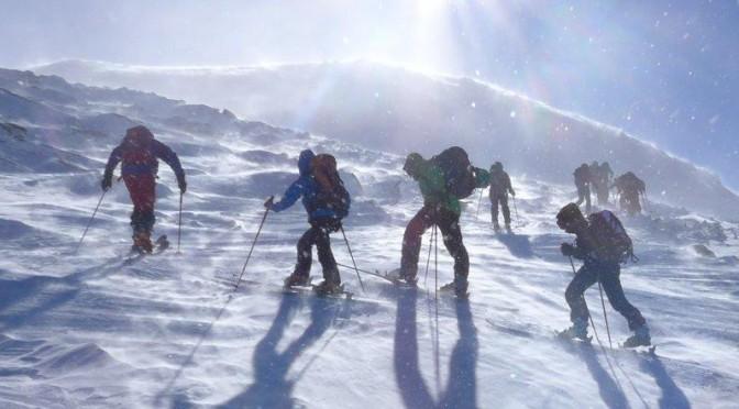Skitouren in der Kelchsau – Neue Bamberger Hütte