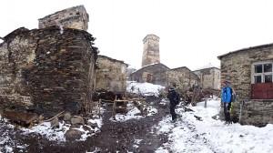 Freeriding im Kaukasus