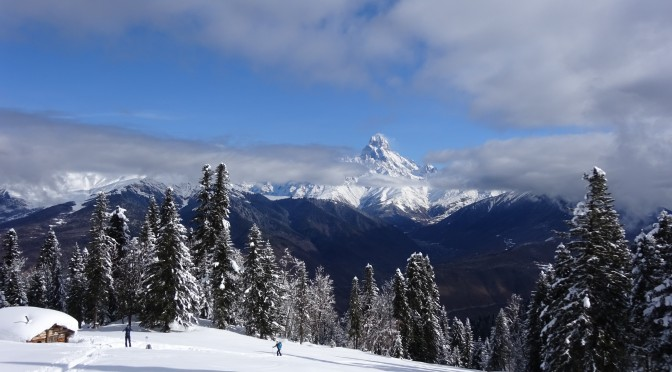 Skitouren in Swanetien / Georgien 2017