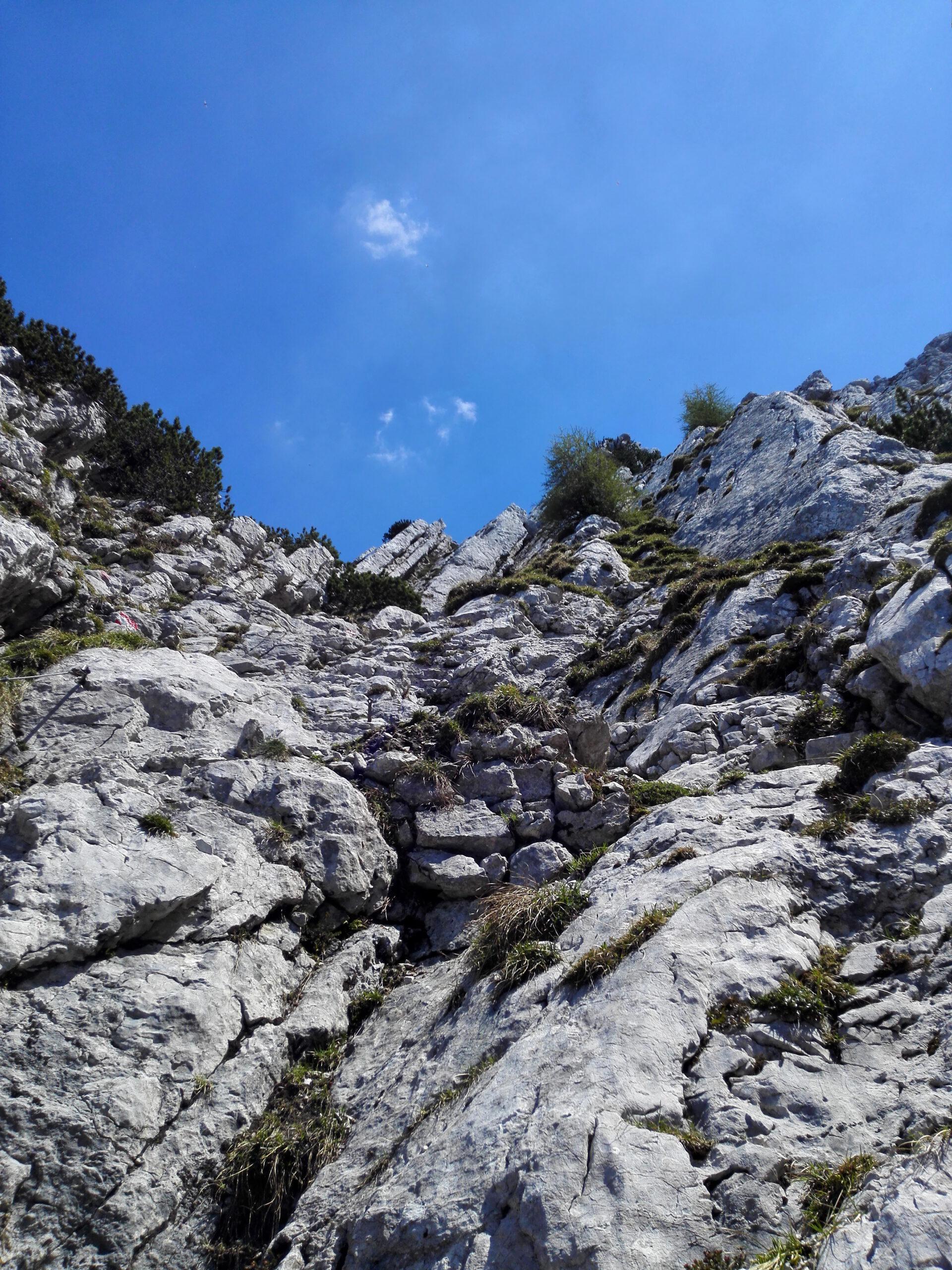 Scheffauer - Widauer Steig. Klettersteig Kaindlhütte Wilder Kaiser