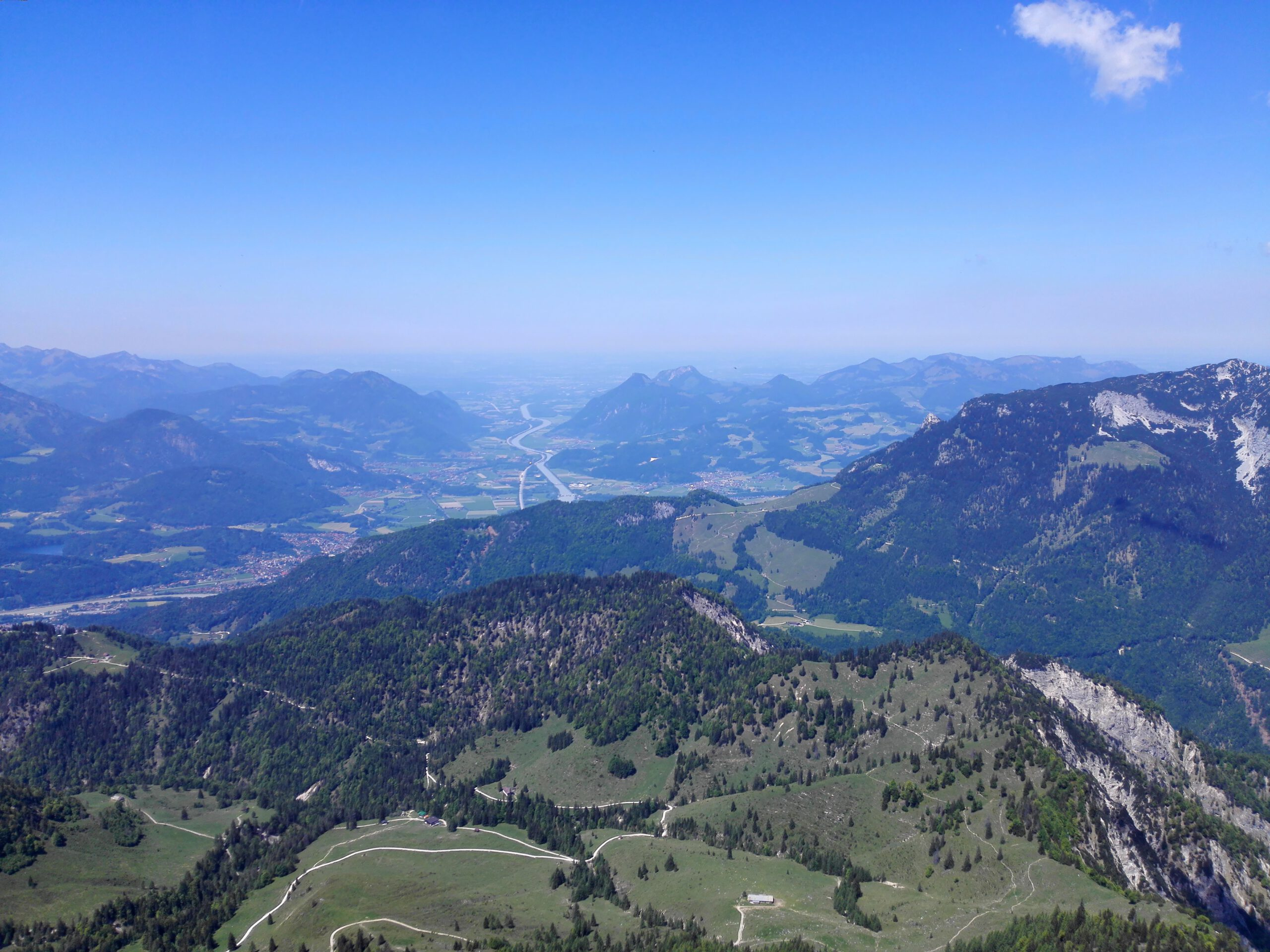 Scheffauer Wilder Kasier Hintersteiner See Kaindl Hütte