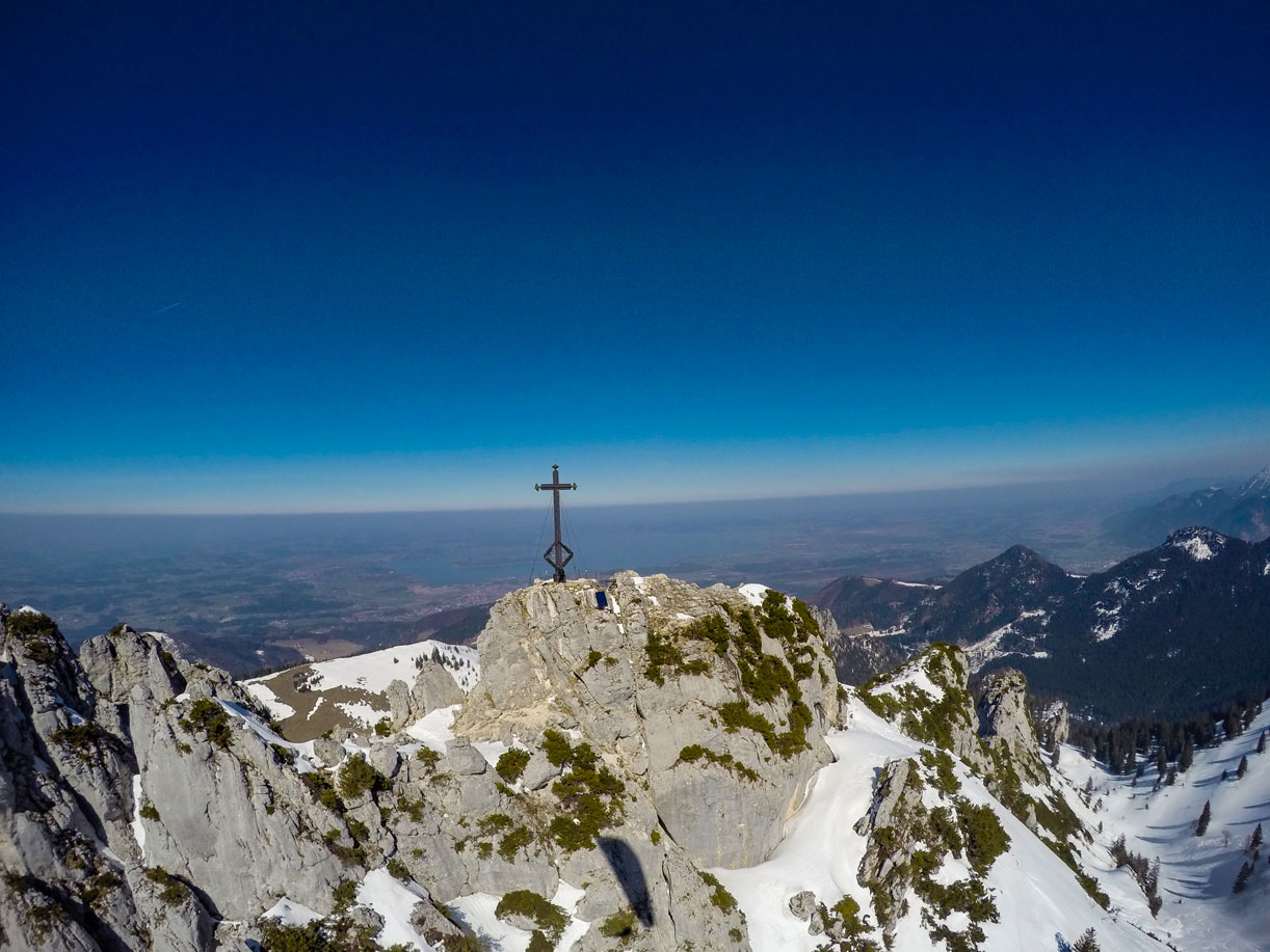 Gipfel Kampenwand Chiemgau