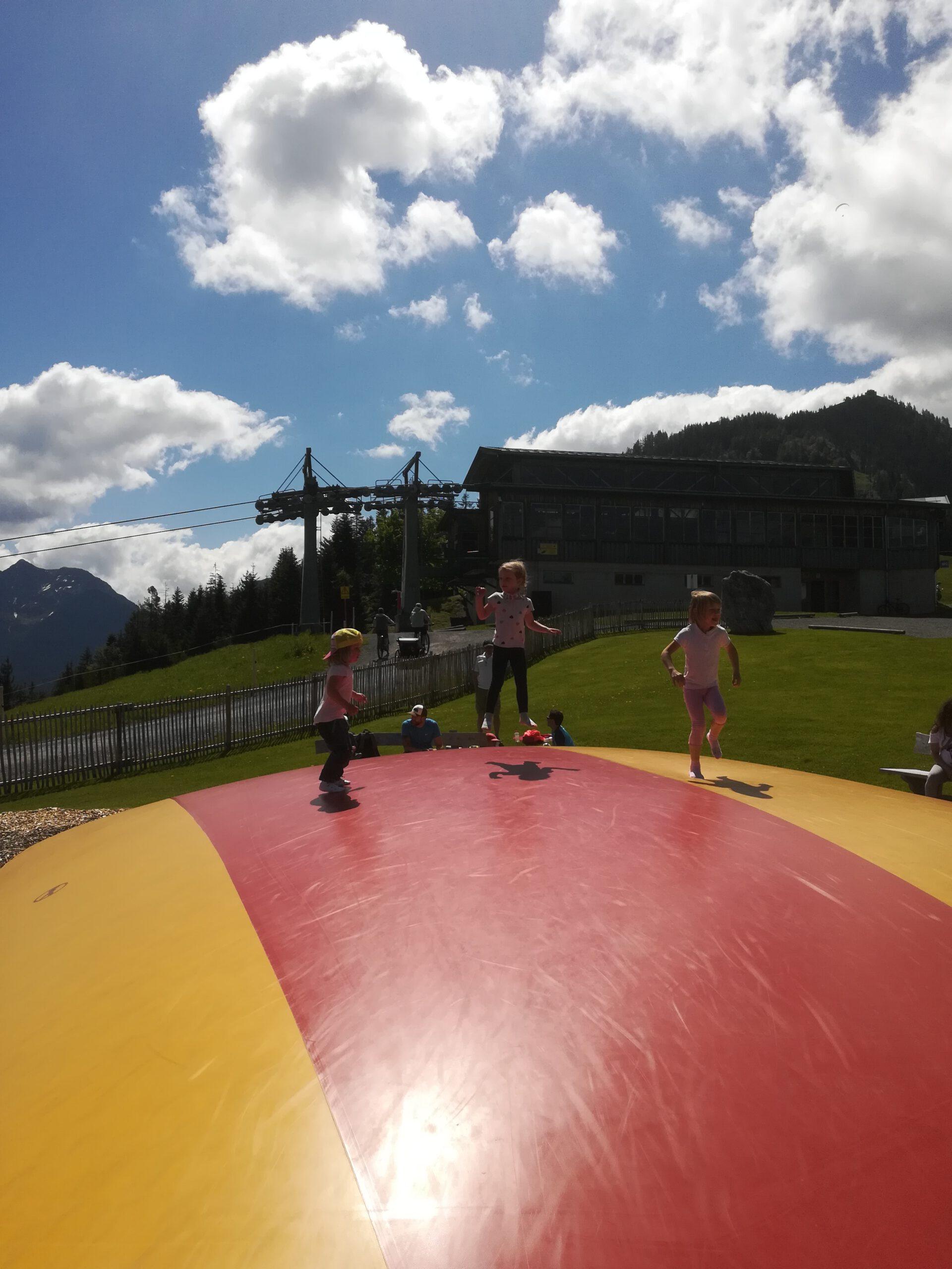 Familienausflug, Fieberbrunn, Timok´s Spielplatz