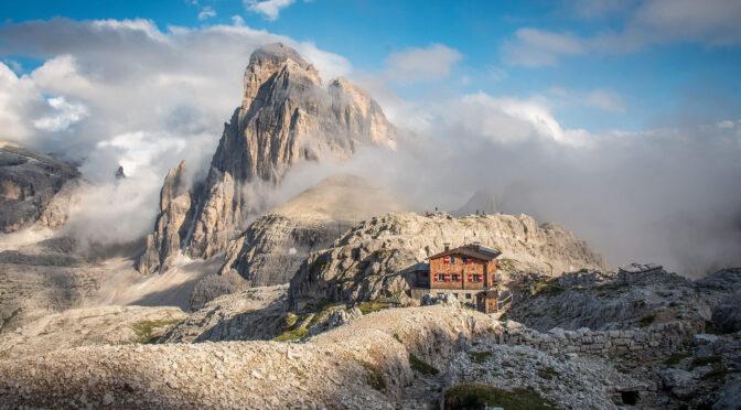 Sextener Dolomiten – Drei Zinnen Hütte(2405 m), Büllelejoch (2528 m)