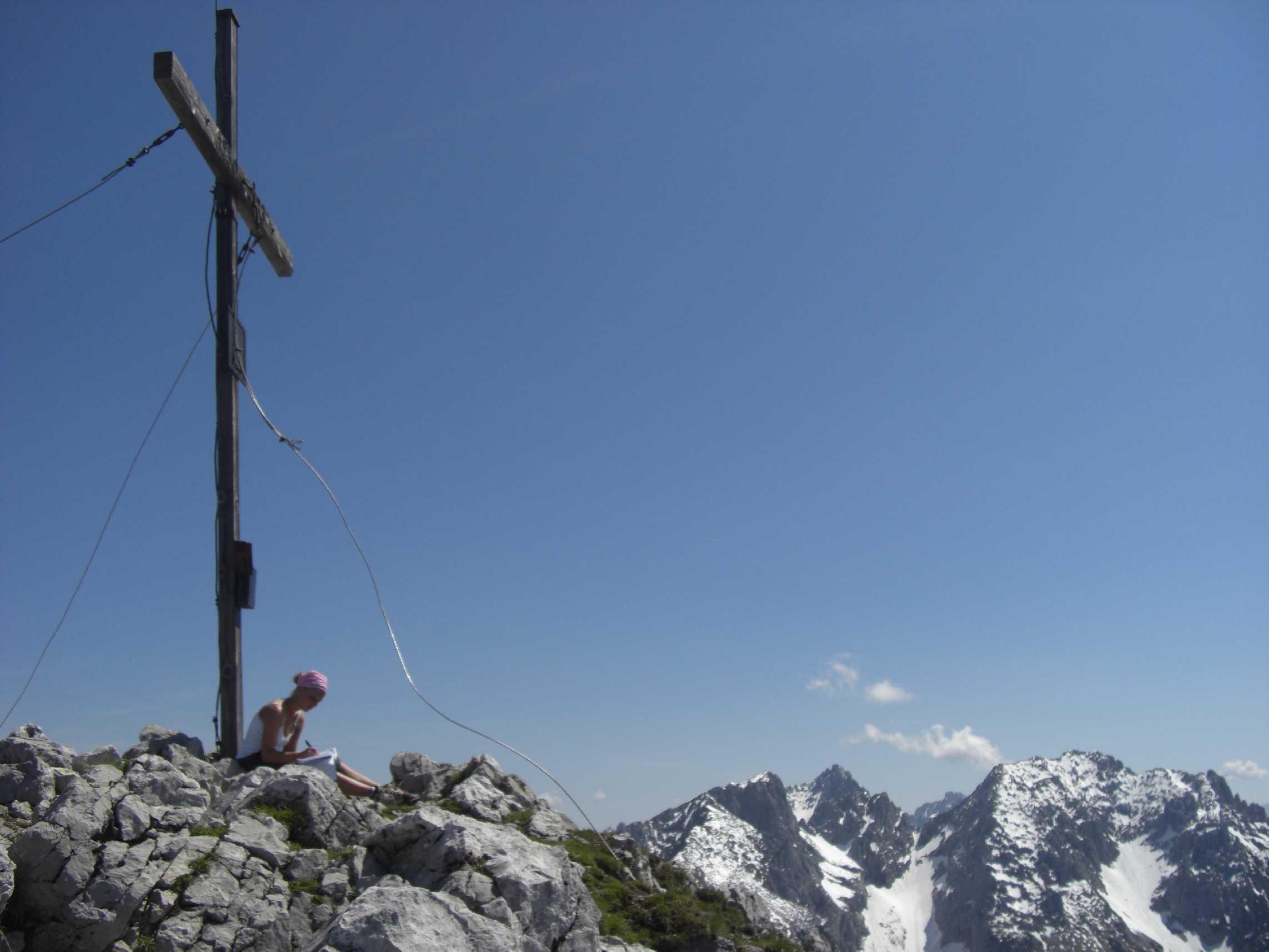Am Gipfel des Scheffauers - Wilder Kaiser