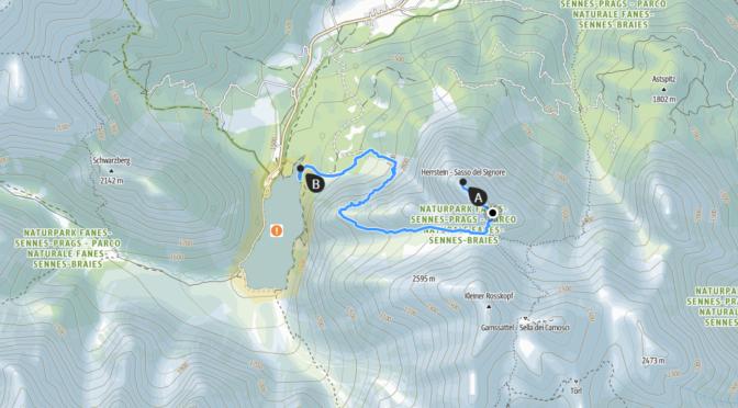 Wandern auf den Herrstein (2419 m, ca. 950 hm), Sextener Dolomiten