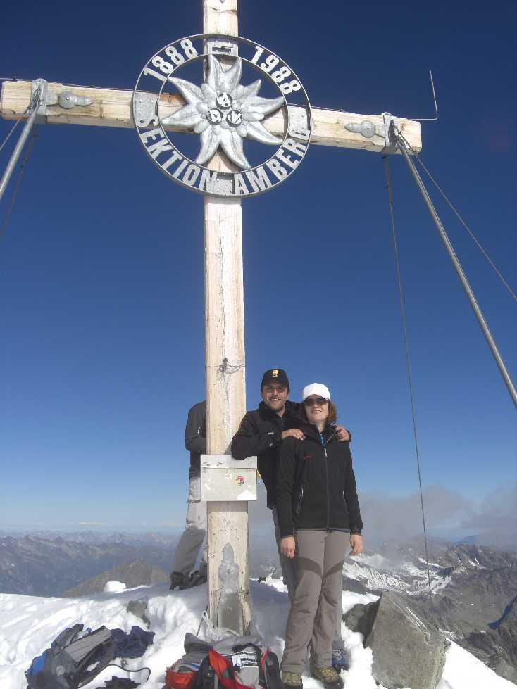 Gipfelkreuz Schrankogel