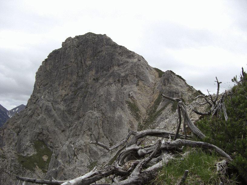 Gipfel der Rappenspitze im Karwendel