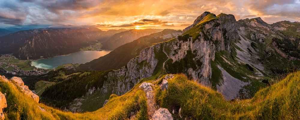 Rofan Klettersteig im Rofan, Achensee