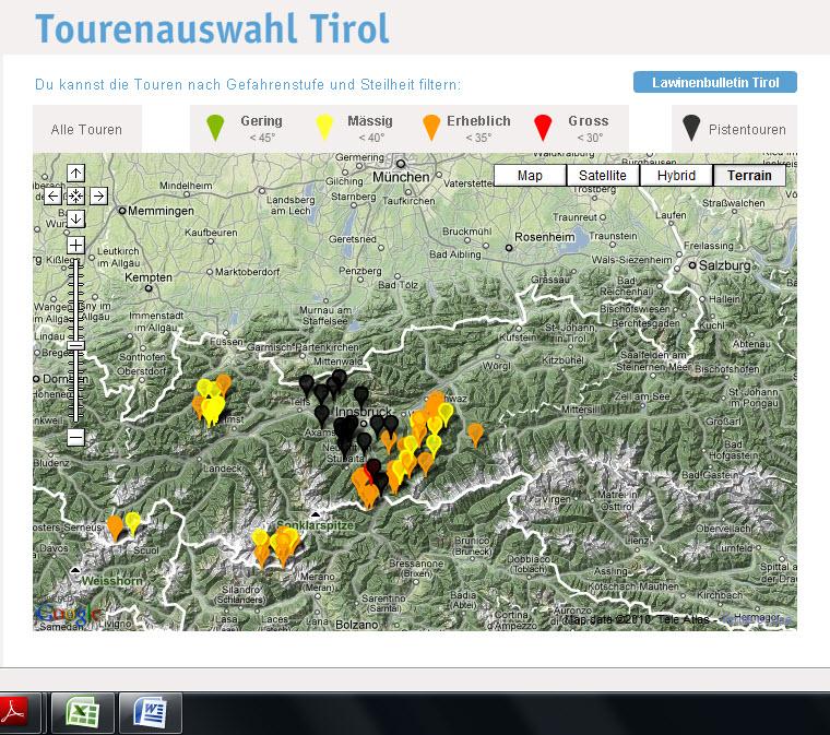 Skitouren in Tirol planen bei www.tirol.at