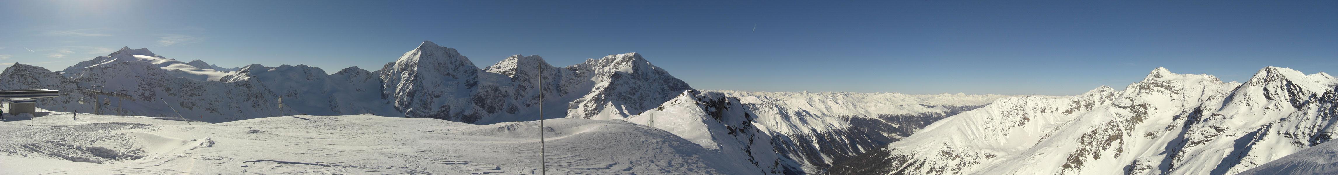 Ortler-Gruppe in Südtirol