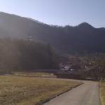 Anstieg von Aschau zur Kampenwand, März 2011