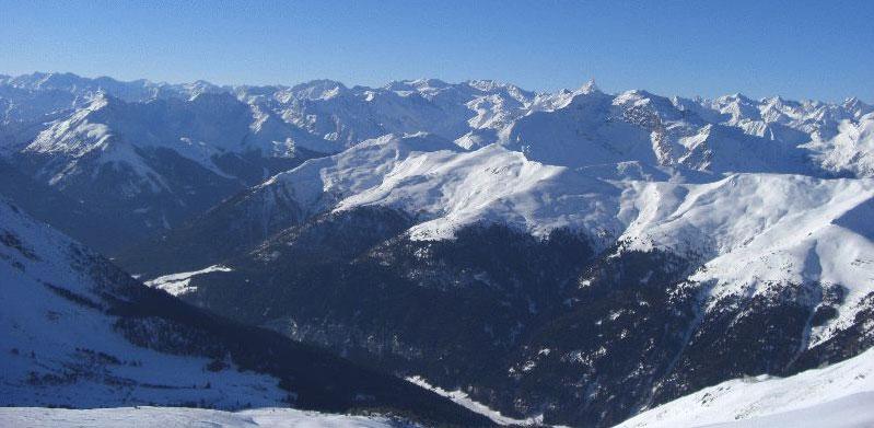 Skitour: Brennerbad (Liftstation Zirog) zur Flatschspitze, ca. 2570 m
