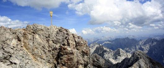 Zugspitzgipfel (Photo: Bergzeit-Blog)