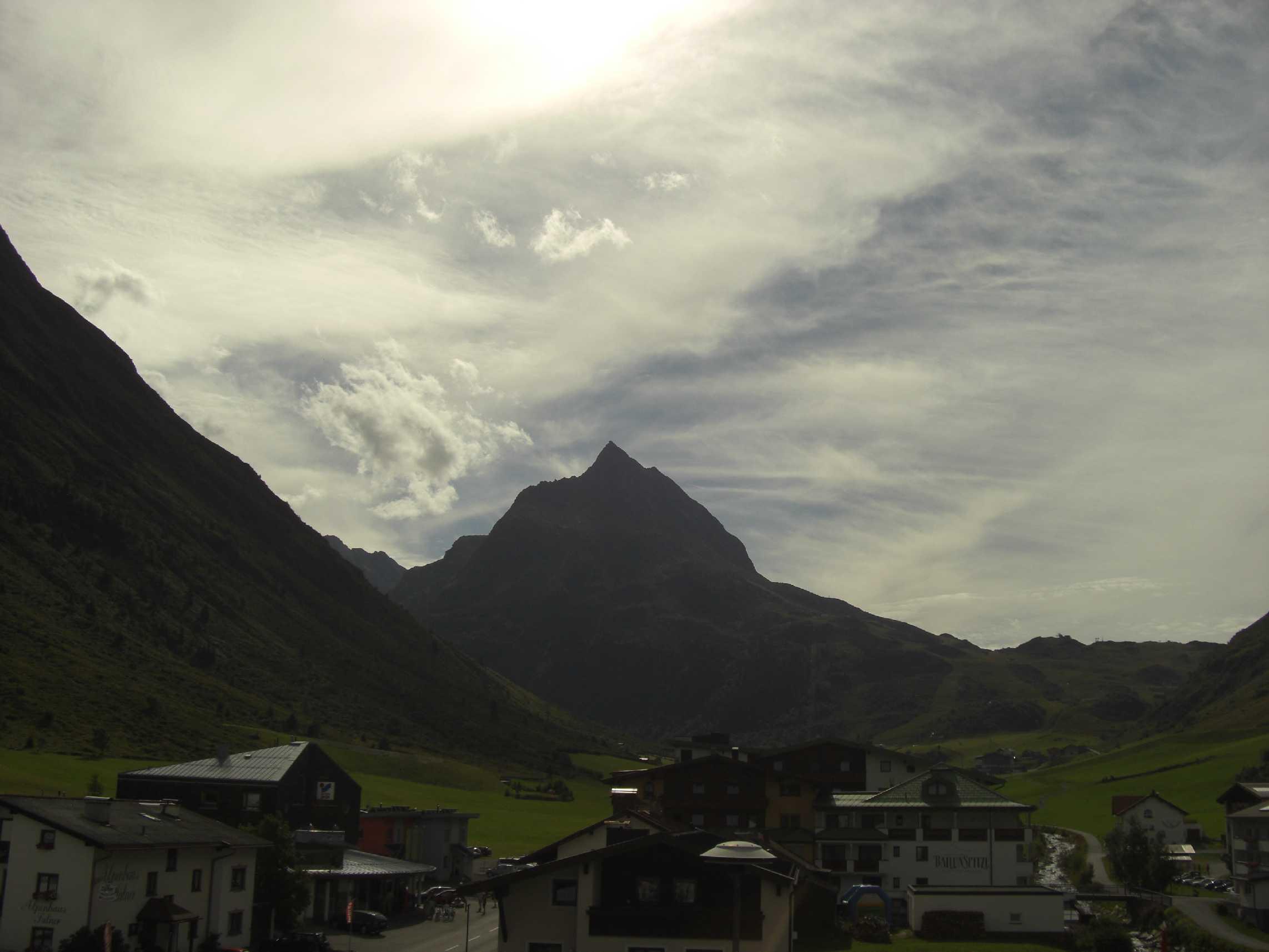 Klettersteig SILVAPARK zur Ballunspitze (2671m) in Galtür (Paznaun)