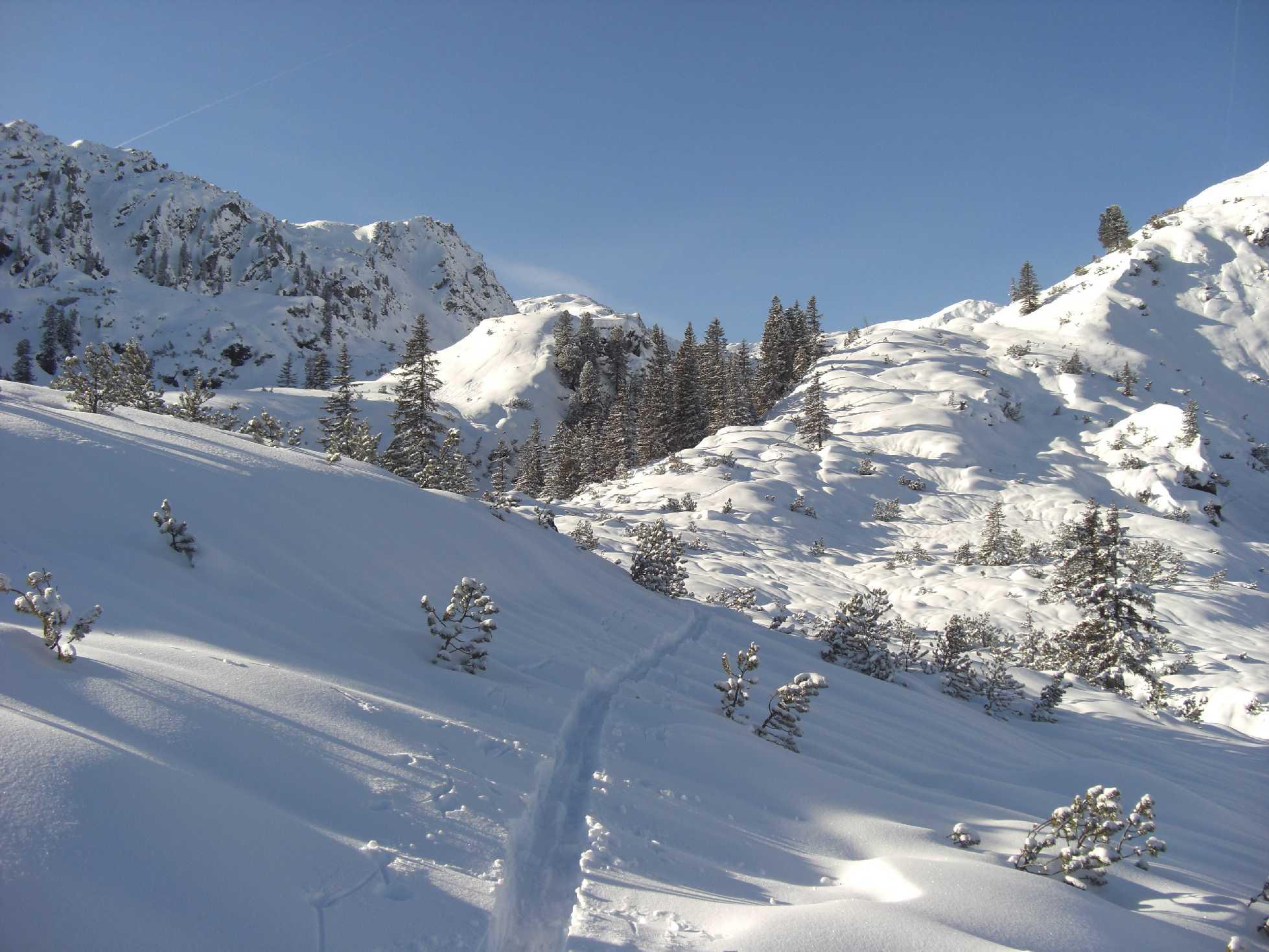 Skitour: großer Beil (2309m) in der Wildschönau