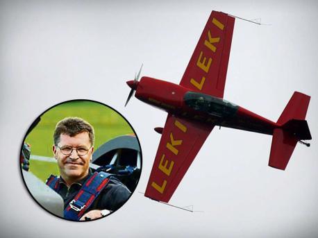 Unglücksfall: Klaus Lenhart (LEKI) stirb bei einem Flugzeugabsturz