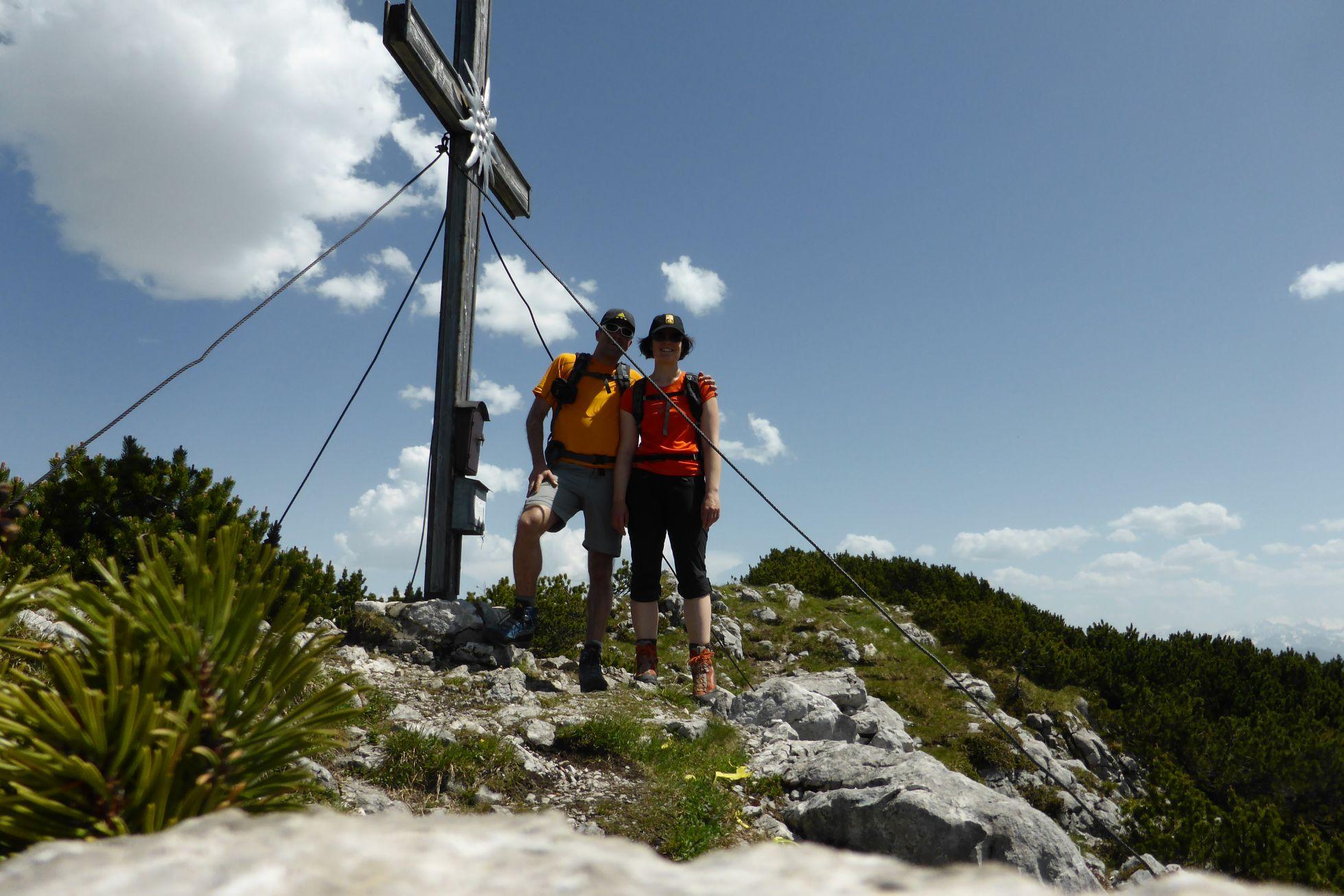 Traumhafte (mittelschwere) Bergtour: Berchtesgadener Hochkranz (1953m)