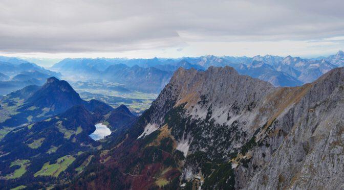 Anspruchsvolle Bergtour im Wilden Kaiser: Treffauer, Tuxeck