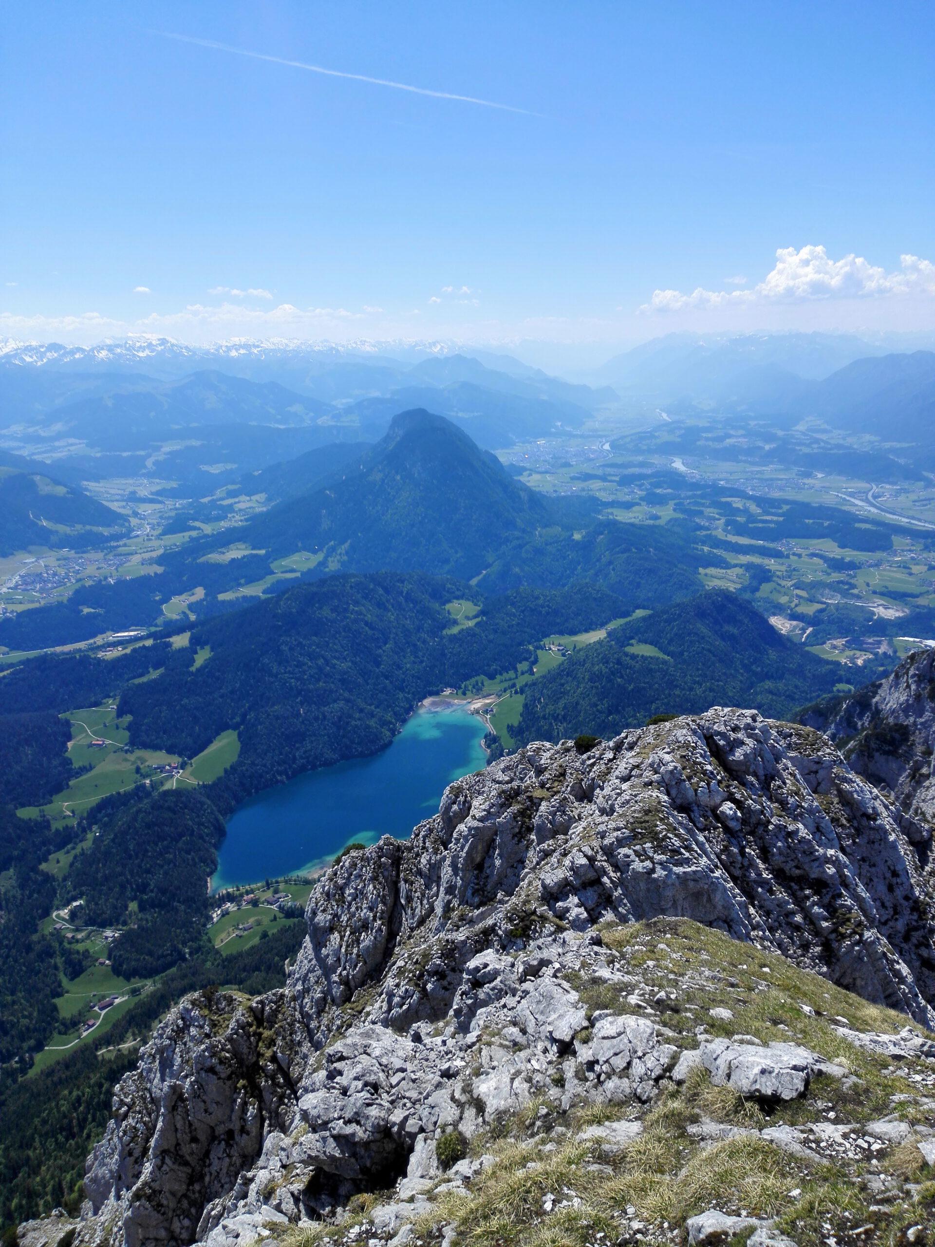Hintersteiner See Scheffauer - Widauer Steig. Klettersteig Wilder Kaiser