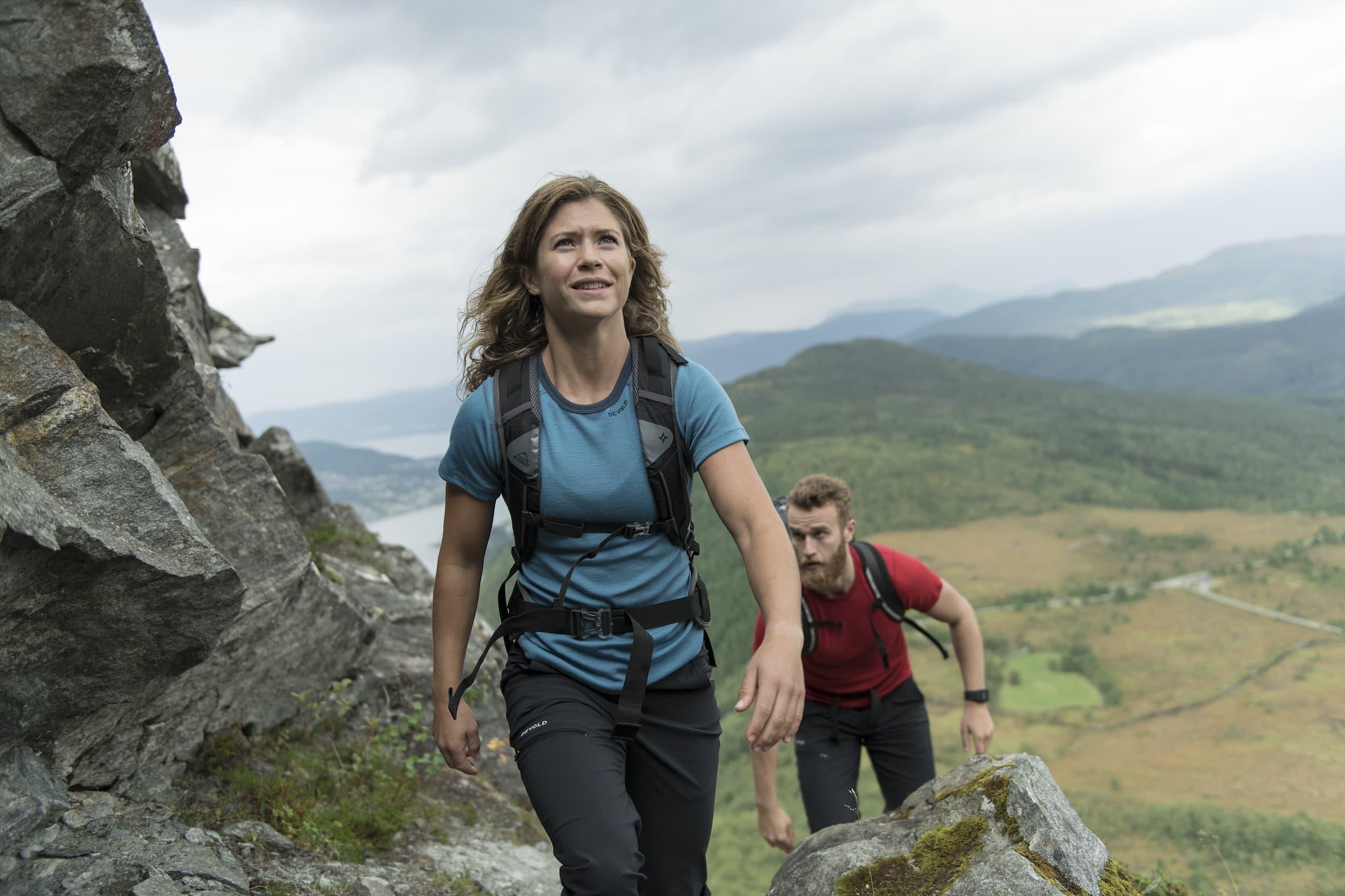 Wanderhose Devold Heroy zum Bergsteigen